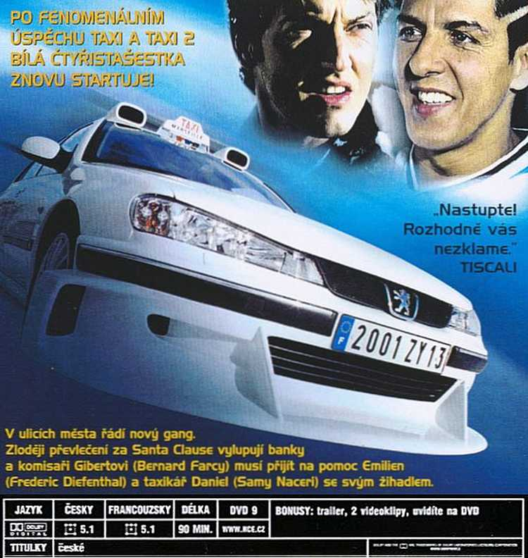TAXI dvd 3